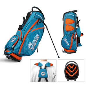 Miami Dolphins- Fairway Stand Bag