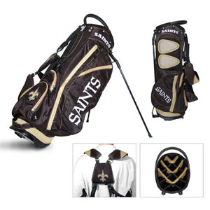 New Orleans Saints- Fairway Stand Bag